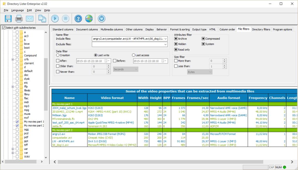 Directory Lister Pro 2.41 Enterprise Multilingual